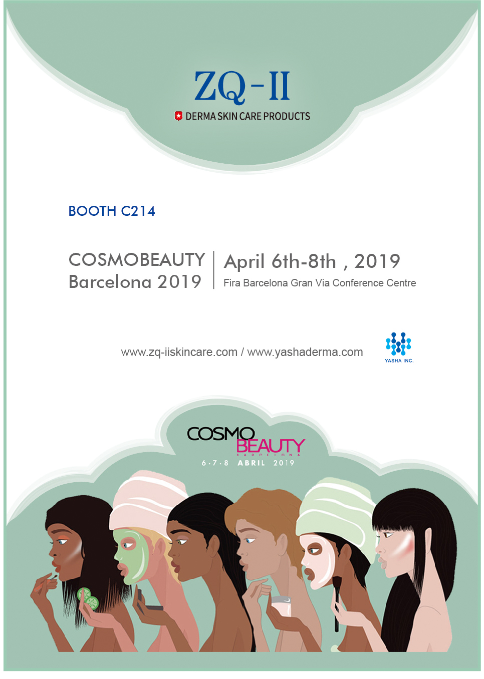 April 6th -8th, Cosmobeauty Bercelona 2019