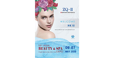 Yasha ZQ-II attend Indian biggest beauty&Spa exhibition and stunning on the fair