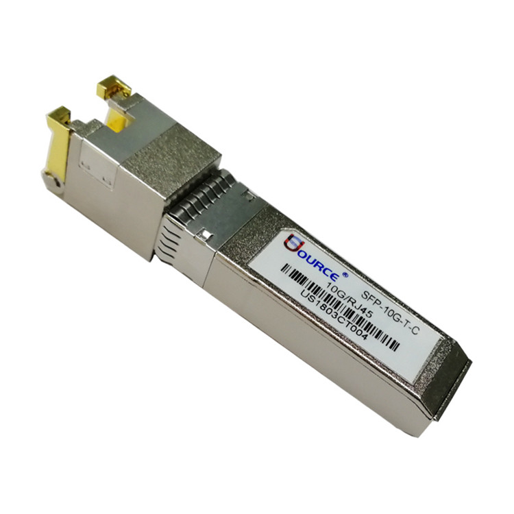 10g Rj45 Copper Optical Fiber Transceiver Module Manufacturers Supplier Exporter Factory Price Optical Sfp Com