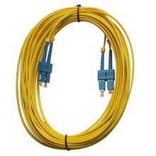 Singlemode Duplex SC Optical Fiber Jumper Cable