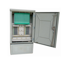 Outdoor 288F 576F Metal SMC Optical Cross Connection Cabinet