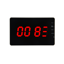 Restaurant Waiter Service Calling System Counter Number Display Receiver