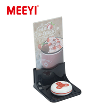 Y-70 Buzzers With Menu Holder For Catering Service Cafe Customer Call Waiter System