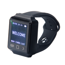 Y-670-A 433Mhz Waterproof Waiter Server Wrist Watch Pager
