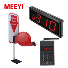 Y-30B Wireless Queue System Ticket Dispenser Receiver Keypad