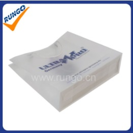 Imprint PP plastic promotion bag with strap-PP-1402