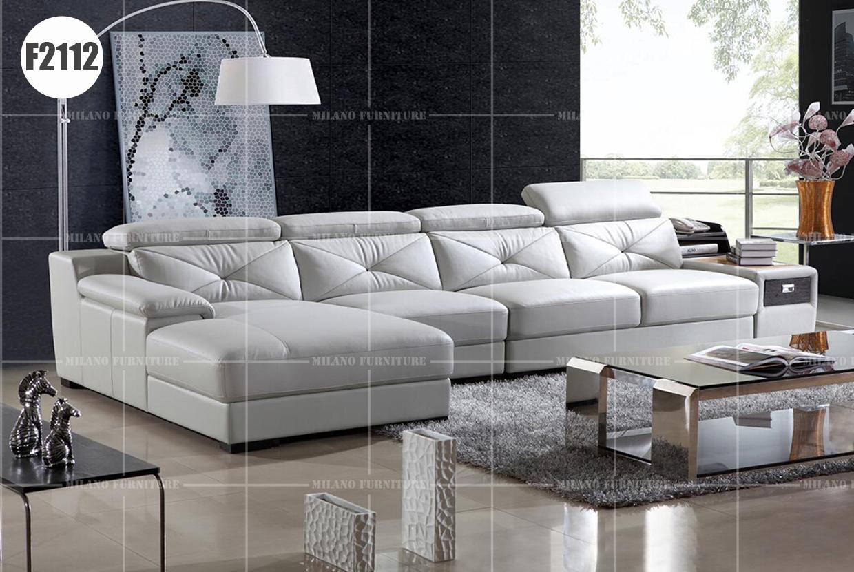 Product milano f2112 l shape sofa sofa leather corner for Product designer milano