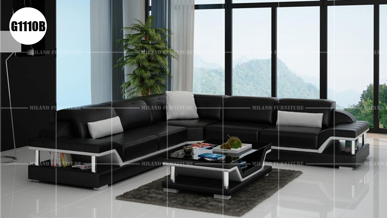 Product Milano G1110b Corner Sofa Sofa Corner Leather