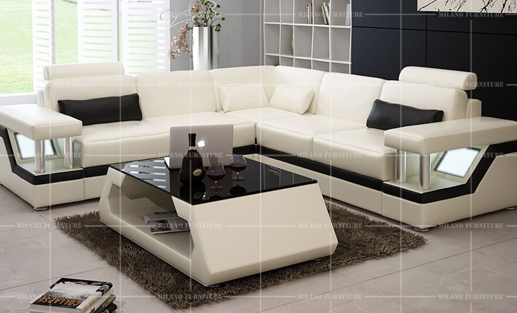 Product Milano G1074d Corner Sofa Sofa Corner Leather