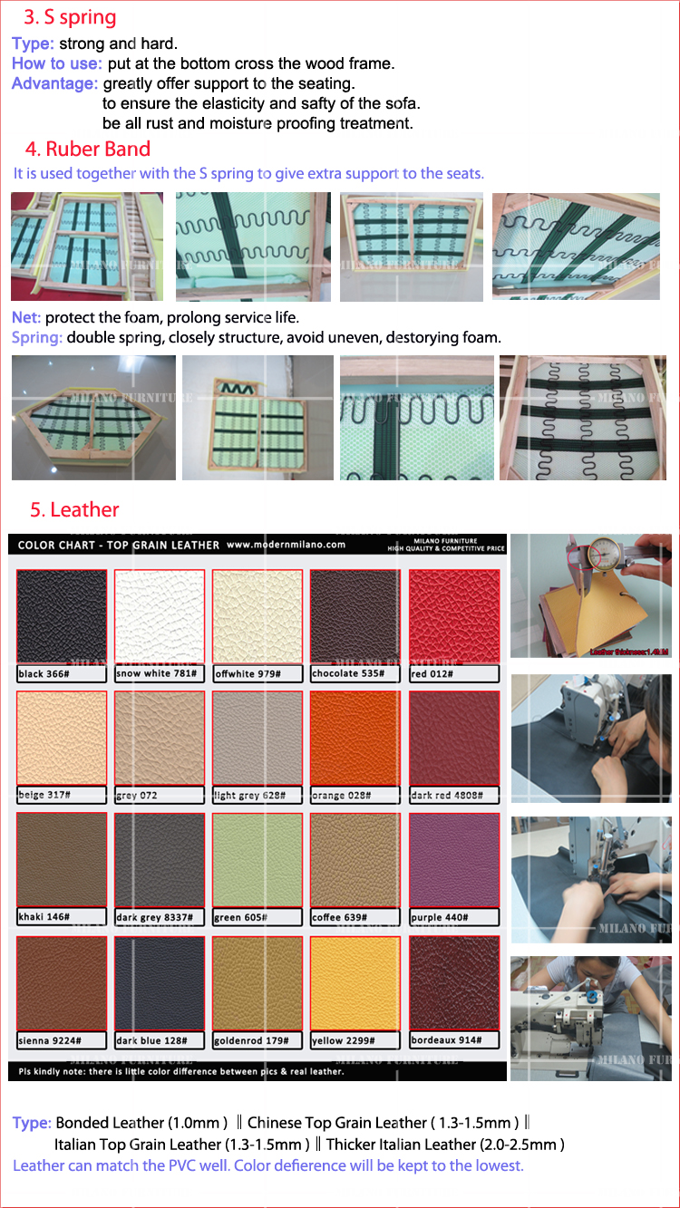 Product milano f6008 1 2 3 sofa set sofa corner leather for Product designer milano