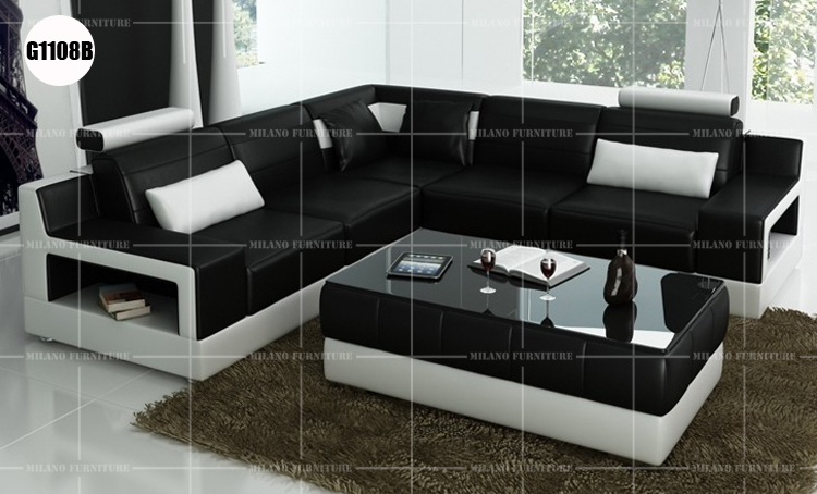 Product Milano G1108b Corner Sofa Sofa Leather Corner