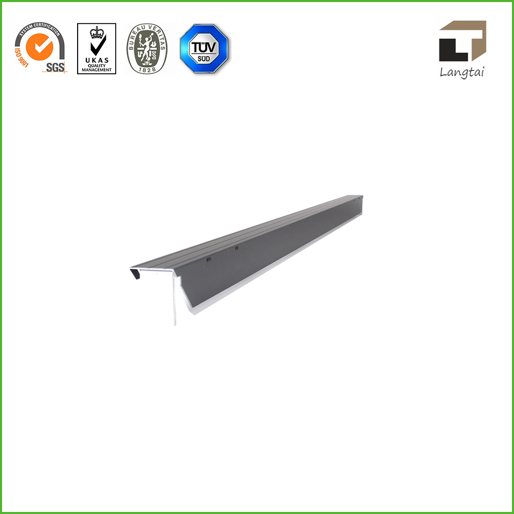 Product Silver White Anodized Aluminum Profile For Solar
