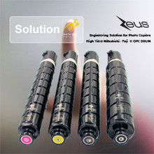 TONER CARTRIDGES C EXV49NPG 67 GPR 53 for use in Canon IR C Advance C3325 C3325i C3330 C3330i.