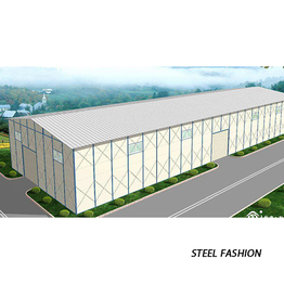 Ginagamit ang Light Steel Frame Structures para sa warehouse