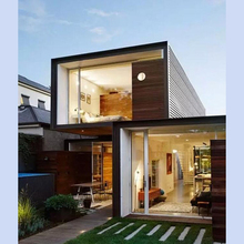 Fashionable luxury container house