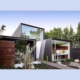 luxury expandable shipping container house