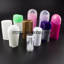 Empty Deodorant Stick Bottle, Plastic Tubes Packaging