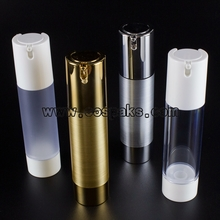 50ml airless cosmetic pump bottles wholesale