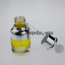 DB25-20ml Yellow Glass e liquid bottle