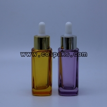 Glass e liquid bottles
