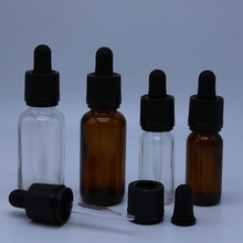 e cigarette e liquid with glass dropper bottle