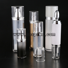 ZA23 Round Cosmetic Airless Pump Bottle