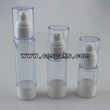 15ml 30ml 50ml Airless Cosmetic Pump Bottles ZA27A