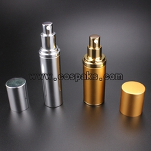Aluminum Bottles with Airless Pump ZAL24