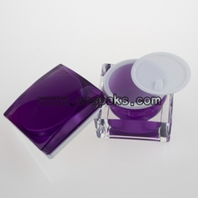 Square Acrylic Jars for cosmetics