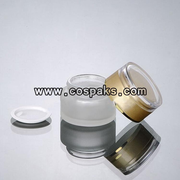 30ml glass ointment jar