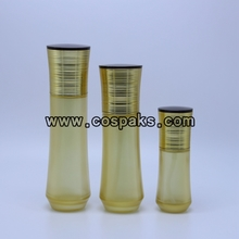 100ml Pretty Glass Bottles with Serum Pump LG90