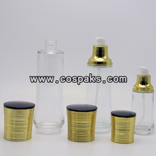 120ml Glass Bottles with Caps for Toner LG90