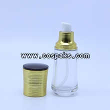 40ml Glass Lotion Bottles with Pump LG90
