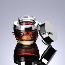 50ml Glass Cosmetic Jars with Lids JGX40