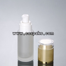 40ml Empty Pump Glass Bottle for Serum LGX21