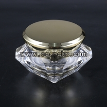 5ml 15ml 30ml 50ml Cosmetic Square Jars