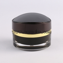 Black Acrylic Empty Containers for Cream JA104
