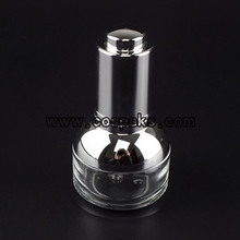silver collar dropper glass  DB24-20ml