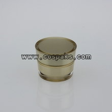 gold cosmetic jar   JA30-5ml