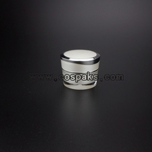 Pearl white jar JA31-5ml