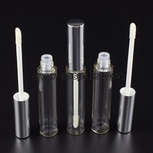 empty tube with lip gloss brush lid  LT012-8ml