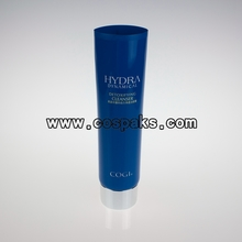 Blue Cosmetic Plastic Tubes with Sliver Cap