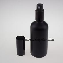 black glass mist spray pump bottles PXG20 30ml 50ml
