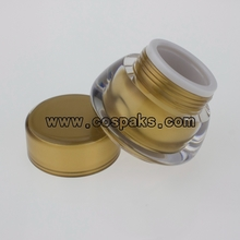 Acrylic cosmetic containers JA312  5ml 15ml 30ml
