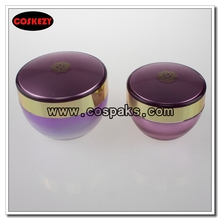 30ml 50ml Acrylic Cream Containers in Colored