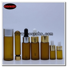 Amber Glass-tube Bottles for Essential Oil