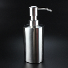 250 ml Stainless Steel Pump  Soap Dispenser Bottle