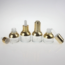 20 ml 30 ml Empty Glass Dropper Bottle with Aluminium Head