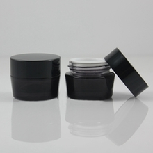 10G 40G Glass Facial Cream Jar Cosmetic Container