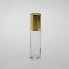 10ml Glass Roll On Bottles with Gold Cap
